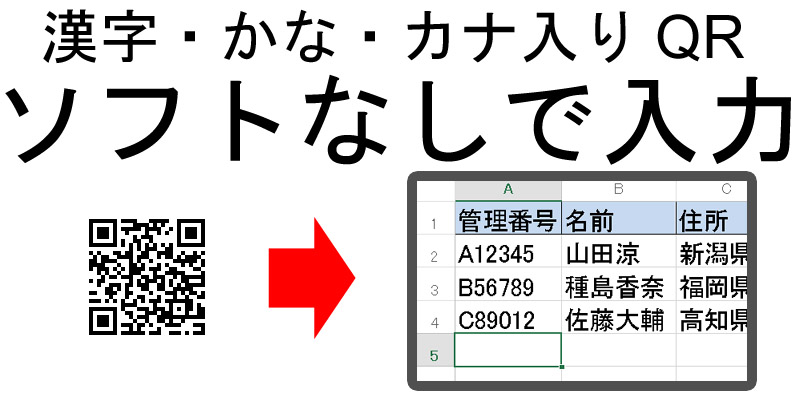 1900 日本語QRコード